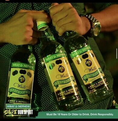 Wray&Nephew 750ml White Rum Pure Jamaica Rum 63% Alcohol /vol Brand New Bottle