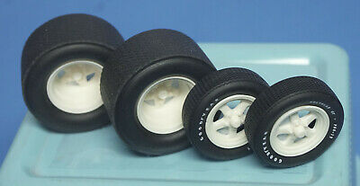 Weld Pro Star Deep Resin Mags w/GY F60-15 Fronts & Wide Treaded Tires 1/25 Scale