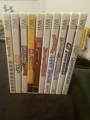 Nintendo Wii Games - You Choose! - 3.99 a Game!