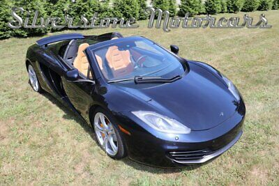 2013 McLaren MP4 -12C Spider 2013 Blue Leather Paddle Shift Supercar Convertible Collector Car