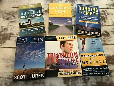 SMALL LOT SALE of 6 BOOKS on RUNNING (Sports)