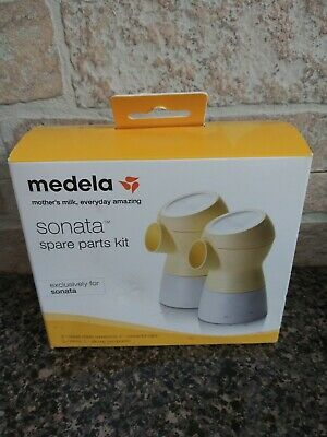 Medela Sonata Spare Parts Kit, Authentic Medela Pump Parts,Made Without BPA