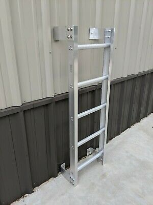 Fixed Aluminum Ladder - High Quality - 10' Ladder Kit - Ascend Fabrication