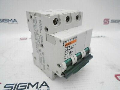 Merlin Gerin 24545 Circuit Breaker 50A 480VAC 3Pole