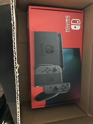 Nintendo Switch Grey Joy-Con IN HAND FREE SAME DAY SHIP PRIORITY 1-3 DAY