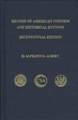Albert's Military Button Book ID Uniform Civil War More
