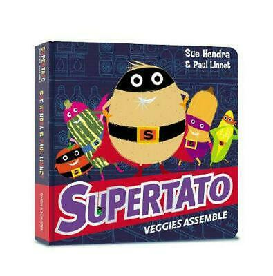 Supertato Veggies Assemble by Sue Hendra (English) Board Books Book Free Shippin