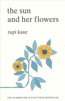 The Sun and Her Flowers by Rupi Kaur (English) Paperback Book Free Shipping!