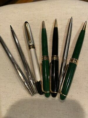LOT OF Six VINTAGE INK PENS AND One  LEAD PENCIL