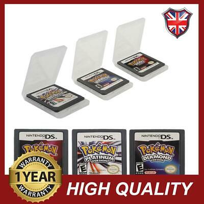Universal Pokemon Platinum Diamond For Nintendo 3DS NDS Game Card Lite Version