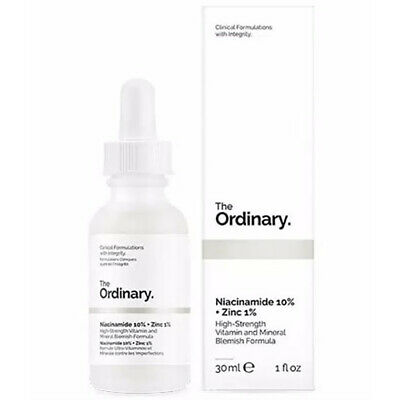 The Ordinary Niacinamide 10% Zinc 1% High Strength Vitamin Mineral 30ml Serum DE