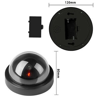 Hot 4pc of Dummy Fake Camera With LED Light Home Surveillance Security Cameras