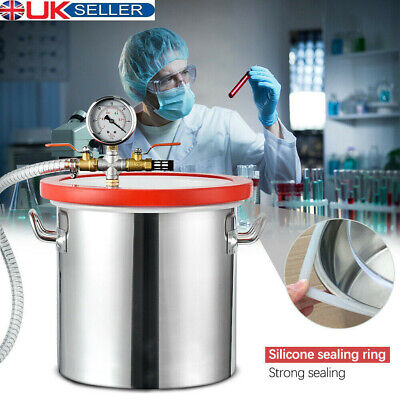 3 Quart Stainless Steel Vacuum Chamber for Urethanes Extracting Essential Oils
