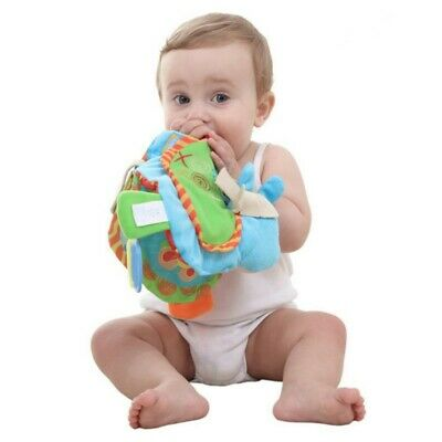 Baby Kids Educational Cloth Book Intelligence Early Learning Toys Book Washable