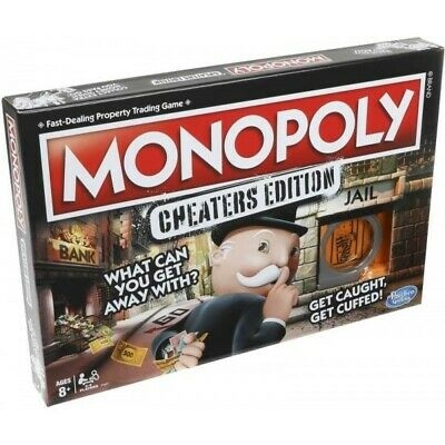 Monopoly Cheaters Edition Board Game, new