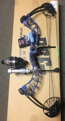 PSE D3 BLUEBowfishing Compound Bow,FISHING REEL REST FINGERS
