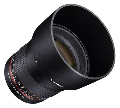 Samyang 85mm F1.4 AS IF UMC Canon EOS Fit  -  Ex-Demo