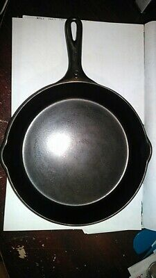 Vollrath Ware #8 Cast Iron Skillet Frying Pan Antique Fully Marked Heat Ring