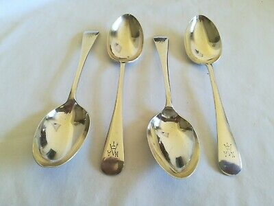 Hallmarked Solid Silver Spoons