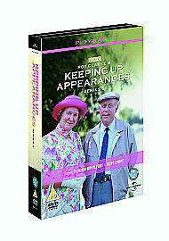 Keeping Up Appearances - Series 5 - Complete (DVD, 2006) disc 1 and 2