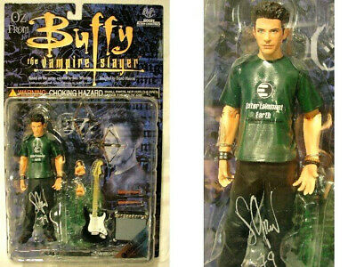 Signed Numbered Seth Green OZ Moore Action Figure Buffy the Vampire Slayer LE