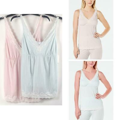 Charter Club Womens Sleeveless Lace Trim Knit Pajama Top Choose Size & Color New