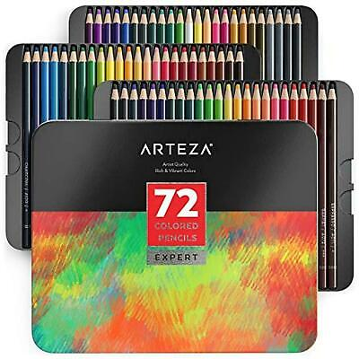 Arteza Professional Coloured Pencils Set of 72