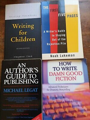 A collection of 4 how to write/creative writing books