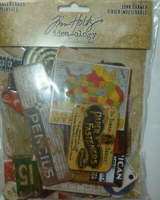 "NEW ITEM! TIM HOLTZ BASEBOARDS ""JUNK DRAWER"" 40 Pieces`"