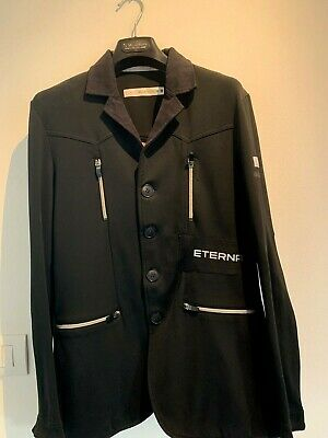ANIMO equitazione Horse show jacket official Eterna Watch Team 46/M