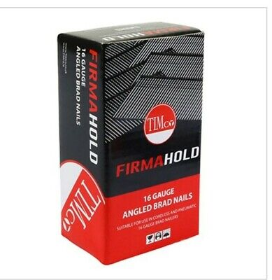 Timco FirmaHold 16 Gauge angle Brad nails (Second fix) 16G X 50MM box of 2000