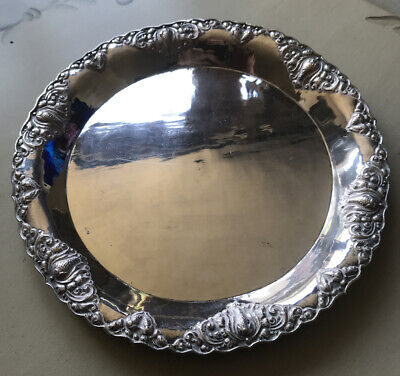 Yogya 800 UD Deluxe Indonesia Solid Silver Dish
