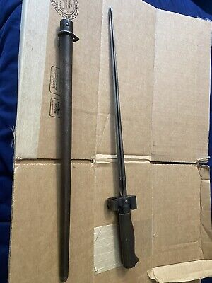 French 1886/93/15/35 Bayonet Good Shape