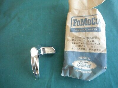 Ford Nos 1963 Galaxie Lh (Drivers Side) Vent Window Handle 63