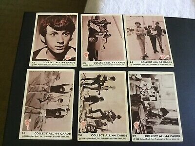 1966 Raybert The Monkees Series 1 Lot X 6