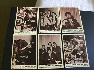 1966 Raybert The Monkees Series 1 Lot X 6 #2