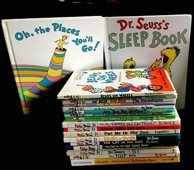 Lot/20 DR. SEUSS Bright & Early, I Can Read It All By Myself HC Beginner Books