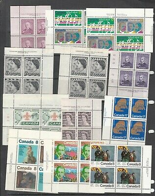 Canada - Four  Pages Of Mint Never Hinged - See Scans