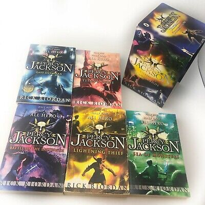 Percy Jackson The Ultimate Collection 5 Books Box Set Pack By Rick Riordan