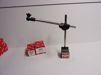 Starrett #657D Magnetic Base with Indicator Post Assembly  New