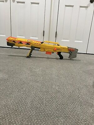 RARE Nerf Longshot CS-6 Yellow (Discontinued), 2 in 1 Package