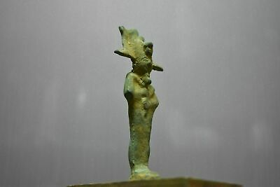 Rare ancient egyptian antique bronze statue Osiris 1550-332bc
