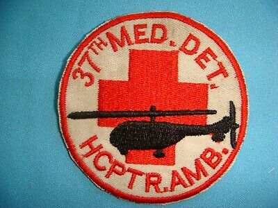 PATCH US 37th MEDICAL DETACHMENT.HELICOPTER AMBULANCE