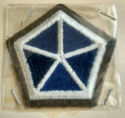 Ww1 Shoulder Patch, 5Th Corps, U.s. Issue *Nice*