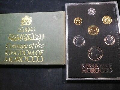 N29 Africa Morocco 1974 7 Coin Set