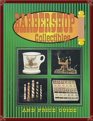 Barbershop Collectibles! Huge Reference With Photos, Values, More! Oop