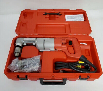 Milwaukee 7 Amp 1/2 in. Corded Heavy Right-Angle Drill Kit 3107-6 - 07/L294192A