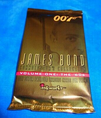 1995 James Bond 007 Volume one: The 60's Connery Trading Cards pack (NS21)