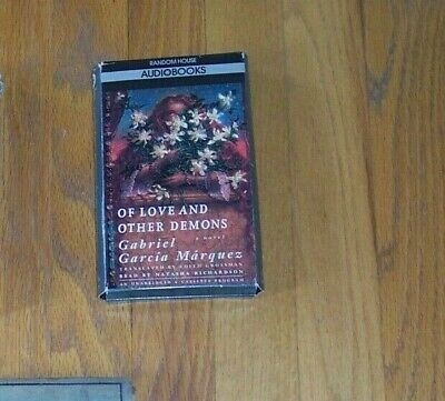 Of Love and Other Demons by Gabriel Garcia Marquez NOBEL Audiobook, 4 Cassettes