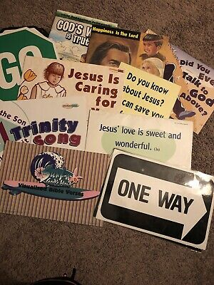 CEF Teaching Materials Song & Bible Verse Visuals Child Evangelism Fellowship